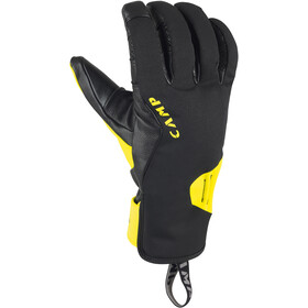 Camp Geko Ice Gants, black/yellow